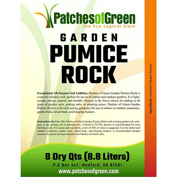 Patches of Green VOLCANIC GARDEN PUMICE ROCK
