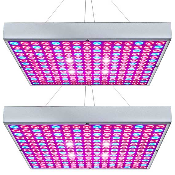 Grow Light 45W Plant Lights Red Blue White Panel Growing Lamps