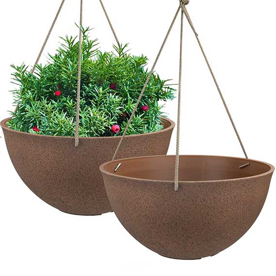 Hanging Planters for Outdoor Plants Flower
