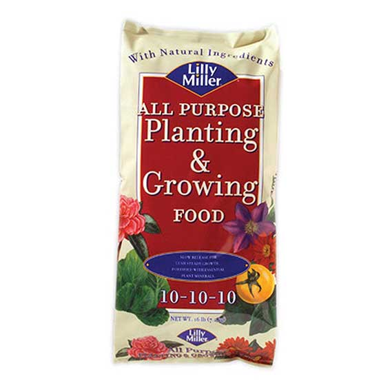 Lilly Miller All Purpose Planting And Growing Food 10-10-10